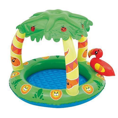 detský bazén so strieškou Džungla