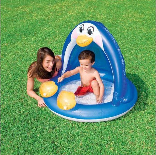 detský bazén so strieškou Tučniak