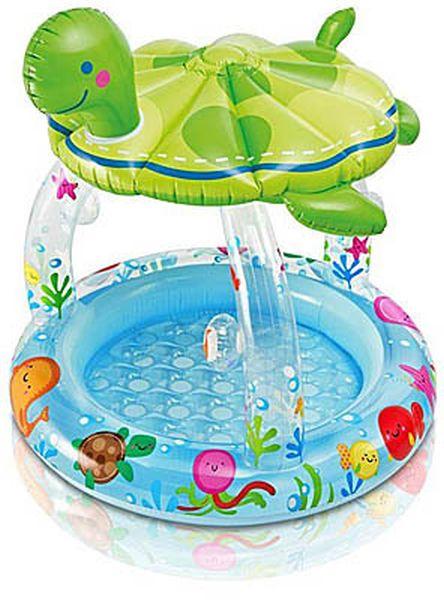 detský bazén so strieškou Korytnačka
